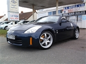 NISSAN 350Z (313 bhp) GT CONVERTIBLE, A/C, SAT/NAV, petrol, SOLD! SOLD! SOLD!