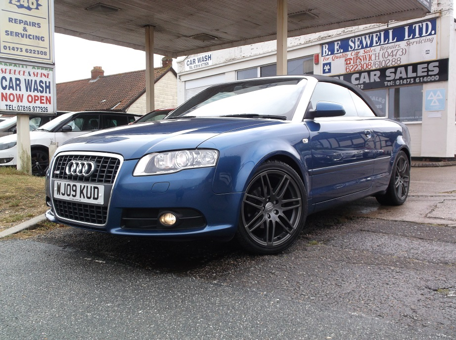 For Sale Audi A4 2 0 Tdi Cabriolet S Line Final Edition