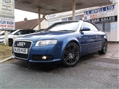 AUDI A4 2.0 TDi CABRIOLET S-LINE FINAL EDITION AUTOMATIC, A/C, diesel, SOLD! SOLD! SOLD!
