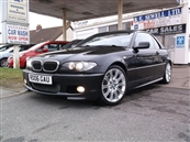 BMW 330 Ci M-SPORT AUTOMATIC CONVERTIBLE, inc HARD TOP, A/C, petrol, SOLD! SOLD! SOLD!