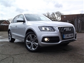 AUDI Q5 2.0 TDi S-LINE SPECIAL EDITION QUATTRO, 5DR 4X4, A/C, diesel, SOLD! SOLD!! SOLD!!!