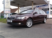 SKODA SUPERB 16 TDi GREENLINE III SE 5DR ESTATE, A/C, diesel