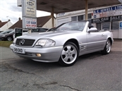 MERCEDES 320 SL R129 CONVERTIBLE, AUTOMATIC, A/C, petrol, SOLD! SOLD! SOLD!