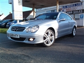 MERCEDES CLK 2.1 CLK 220 CDi AVENTGARDE COUPE AUTOMATIC, A/C, diesel