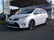 TOYOTA VERSO 2.0 D-4D ICON 5DR, 7 SEATER, A/C, diesel