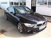 BMW 4 SERIES 3.0 435i M-SPORT AUTOMATIC 2DR, SUN ROOF, A/C, petrol