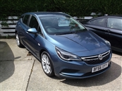 VAUXHALL ASTRA 1.6 CDTi BLUEINJECTION DESIGN S/S 5DR, A/C, diesel