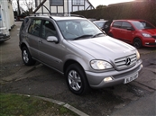MERCEDES ML 270 SPECIAL EDITION, AUTOMATIC A/C, diesel
