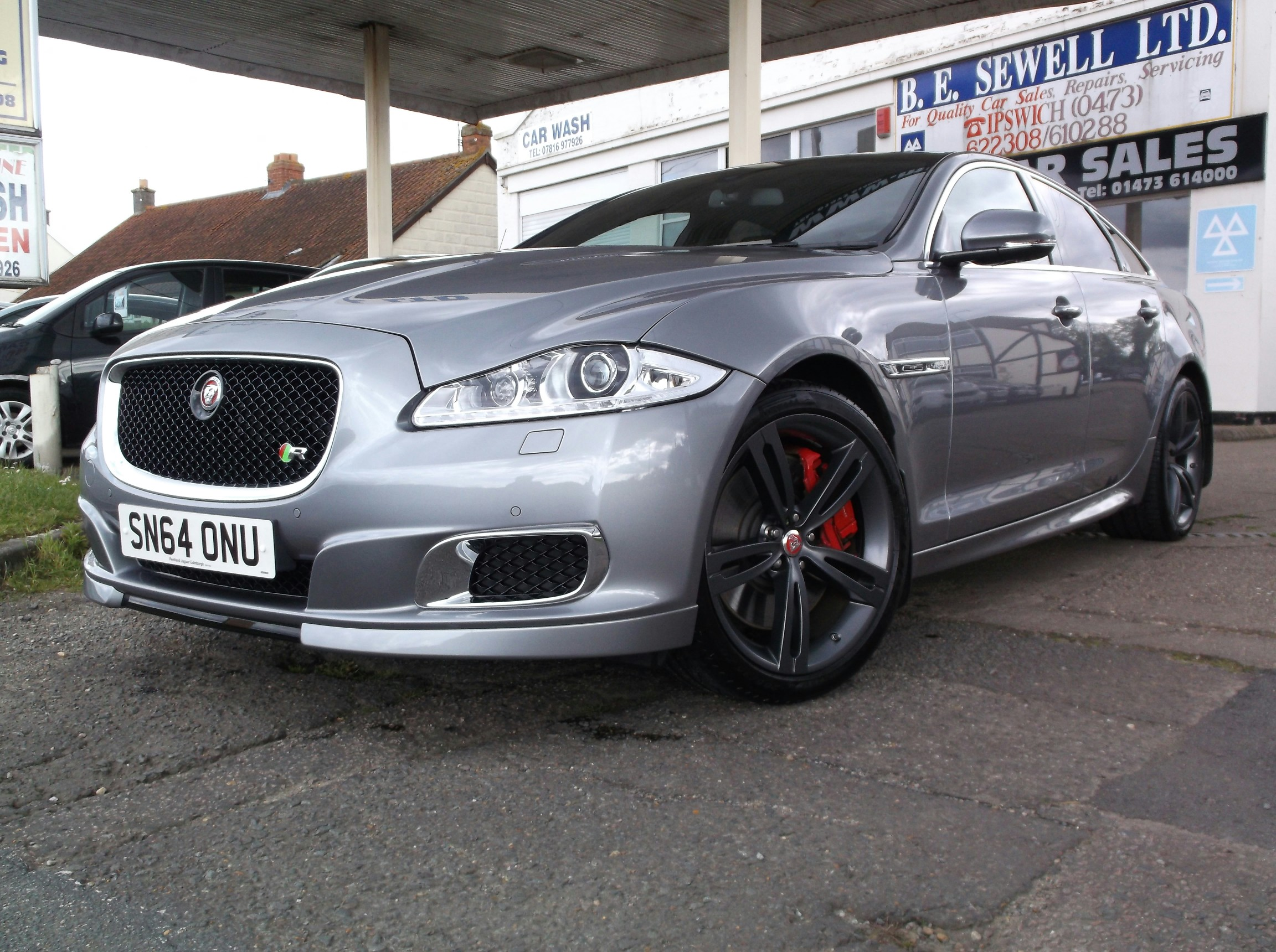 For Sale JAGUAR XJR 5.0 550bhp V8 SUPERCHARGED SALOON, A/C, petrol ...
