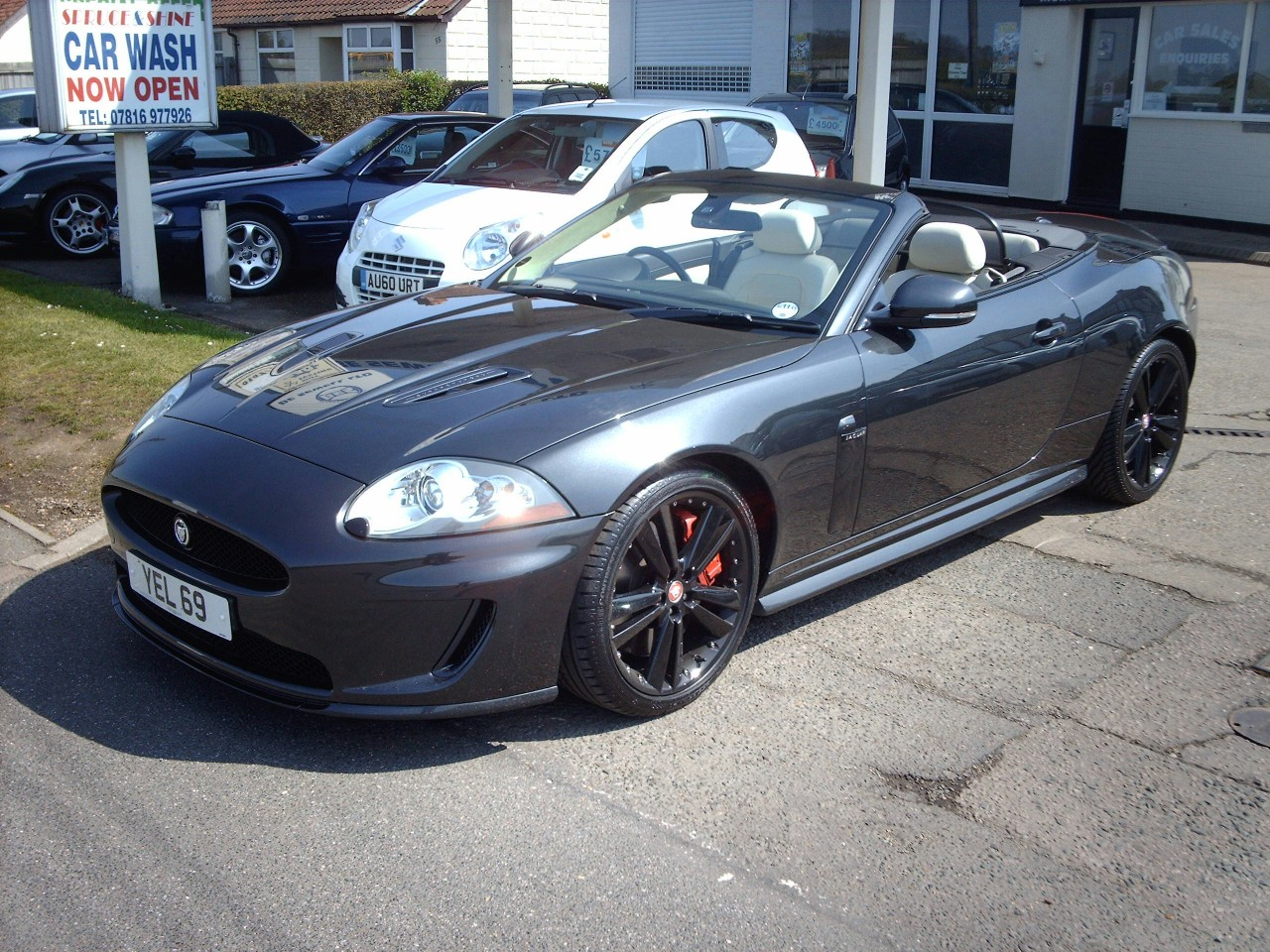 For Sale Jaguar Xkr 5 0 V8 Supercharged Convertible A C